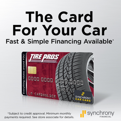 Tire Pros Financing available at Top Quality Motors Tire Pros!